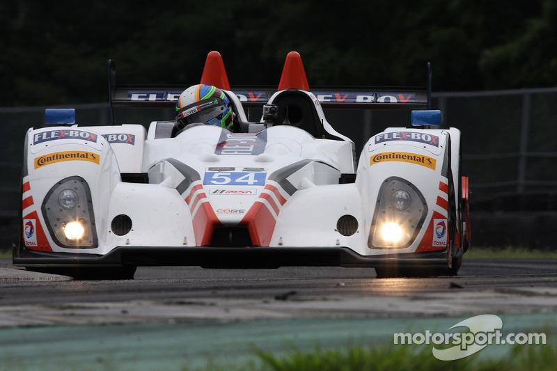 #54 CORE autosport ORECA FLM09: 琼·本内特 & 科林·布朗