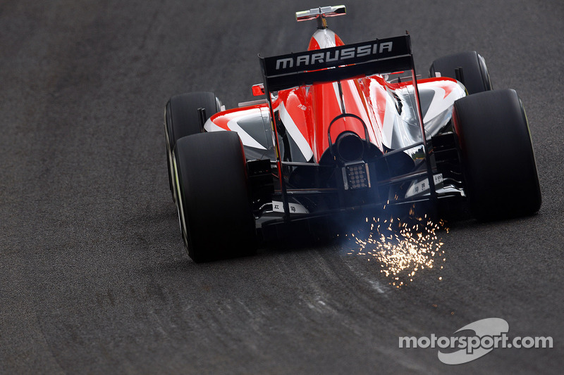 F1, Spa 2014: Max Chilton, Marussia MR03