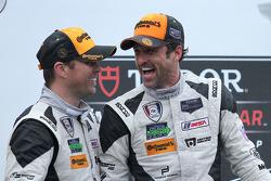 3rd place- #27 Dempsey Racing Porsche 911 GT America: Patrick Dempsey & Andrew Davis