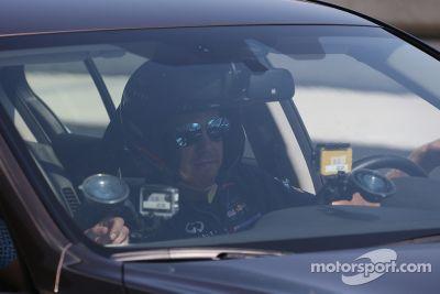 Sebastian Vettel takes first ever lap of Sochi F1 track