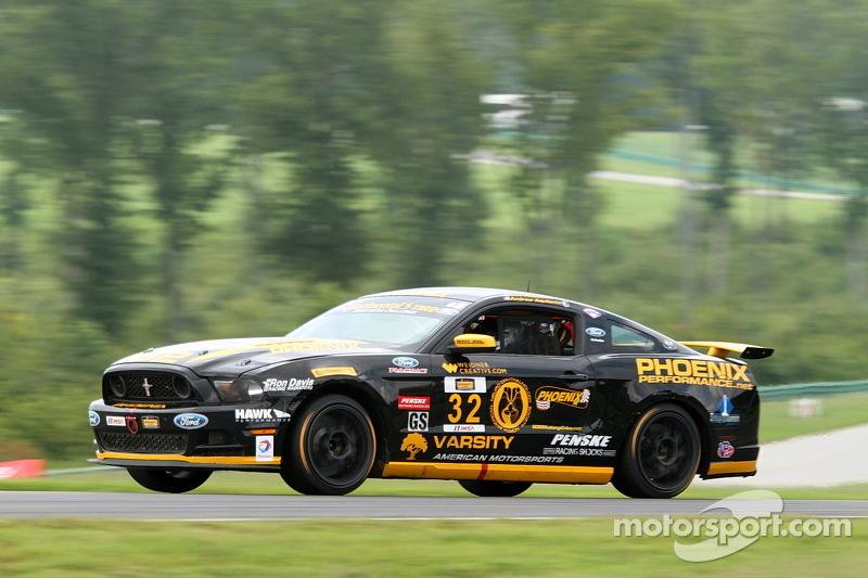 #32 Phoenix American Motorsports Ford Mustang 302R: Kurt Rezzetano, Andrew Aquilante