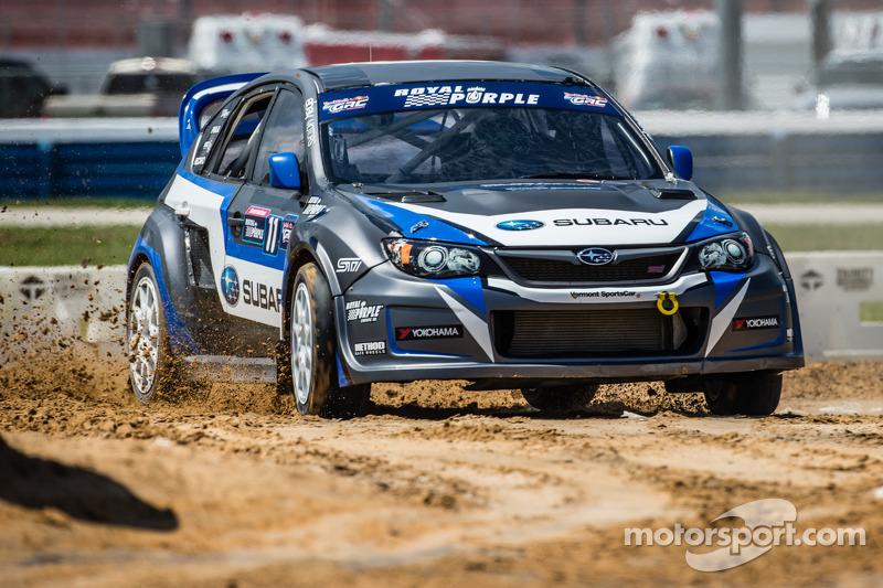 #11 Subaru Rally Team USA Subaru WRX STi: Sverre Isachsen