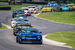 #01 CKS Autosport 雪佛兰 科迈罗 Z/28.R: 埃里克·库兰, 乔丹·泰勒