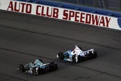 Graham Rahal, Rahal Letterman Lanigan Racing Honda and James Hinchcliffe, Andretti Autosport Honda