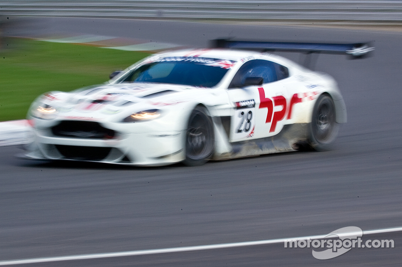 #28 HorsePower Racing Aston Martin Vantage GT3: Paul Bailey, Andy Schulz