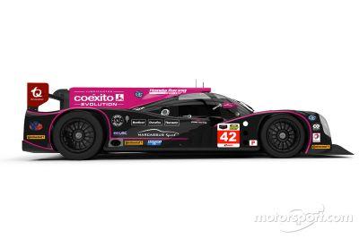 Oak Racing's Ligier JS P2-HPD