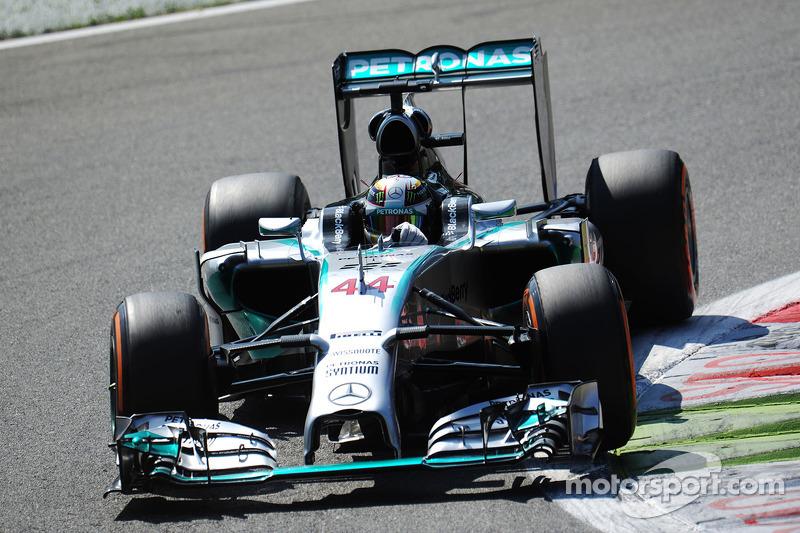 Гран Прі Італії 2014, Mercedes F1 W05 Hybrid