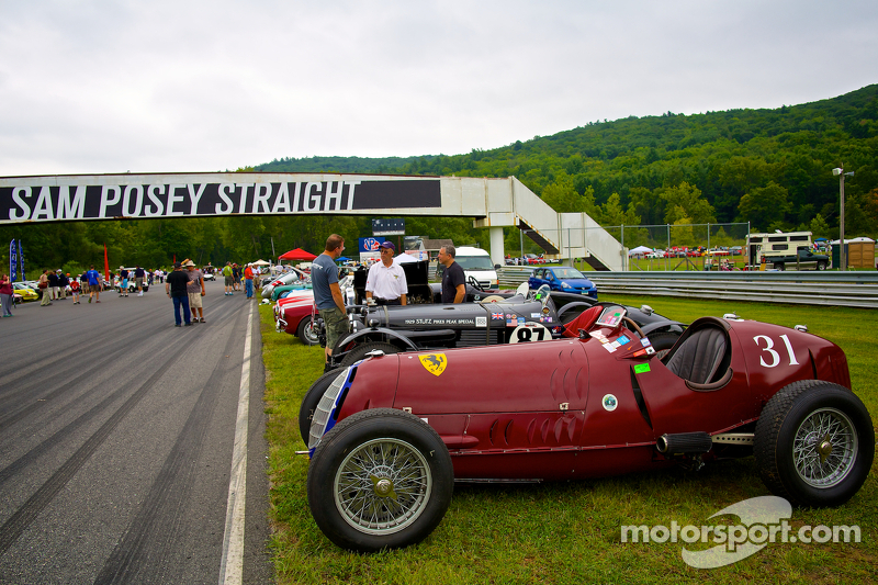 Concurso de domingo no parque com a 1931 Alfa Romeo Tipo B P3