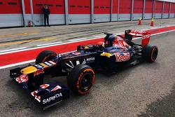 Max Verstappen prova la Scuderia Toro Rosso