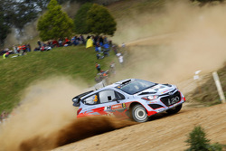 Chris Atkinson and Stéphane Prévot, Hyundai i20 WRC, Hyundai Motorsport
