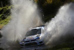 Sébastien Ogier,和Julien Ingrassia, 大众 Polo WRC, 大众 Motorsport