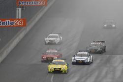 Mike Rockenfeller,菲尼克斯奥迪运动车队,奥迪 RS 5 DTM;Miguel Molina,奥迪运动车队Abt,奥迪 RS 5 DTM;Maxime Martin, 宝马车队 RMG,宝马 M4 DTM