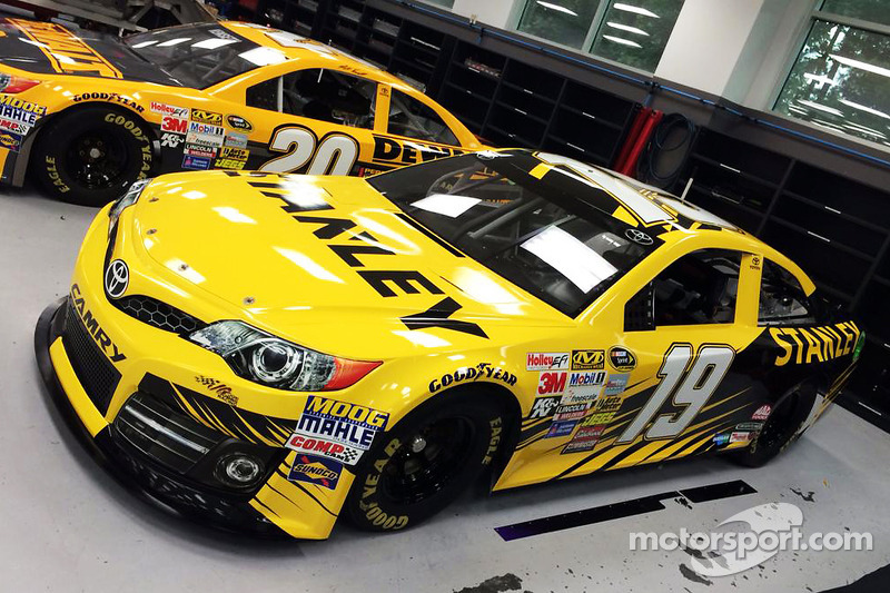 DeWalt to sponsor the #20 car and Stanley to sponsor the #19 car in select 2015 races