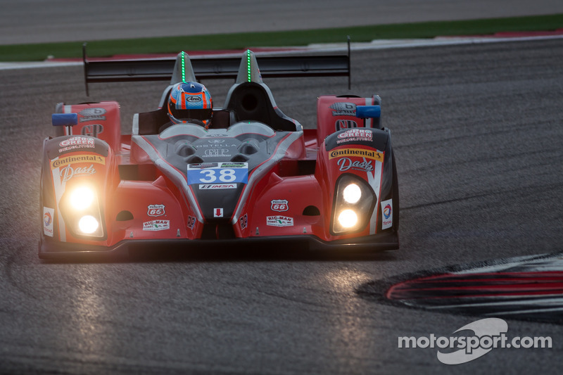 #38 Performance Tech Motorsports ORECA FLM09: David Ostella, James French