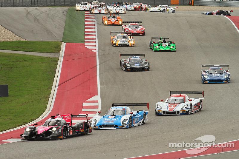Via: #42 OAK Racing Ligier HPD: Gustavo Yacaman, Alex Brundle al comando