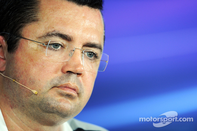 Eric Boullier, McLaren Yarış Direktörü FIA Basın Konferansı'nda