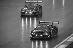 #1 Audi Belçika Klübü, WRT Audi R8 LMS Ultra Takımı: Cesar Ramos, Laurens Vanthoor, Christopher Mies, #3 Audi Belçika Klübü, WRT Audi R8 LMS Ultra Takımı: James Nash, Frank Stippler, Marc Basseng
