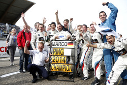 Team Champion 2014 BMW Team RMG