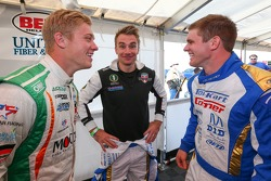 Spencer Pigot, Jay Howard et Conor Daly