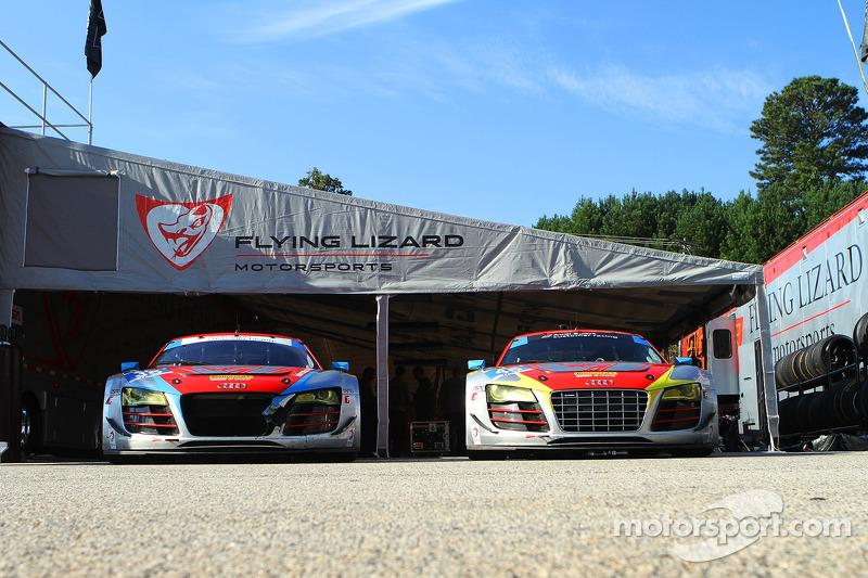 Il garage Flying Lizard Motorsports
