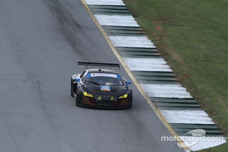 #48 Paul Miller Racing 奥迪 R8 LMS: 克里斯托弗·哈斯, 布赖斯·米勒, 马特·贝尔