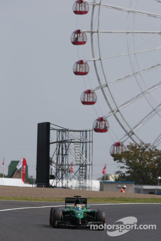 Roberto Merhi, Caterham CT05 piloto de testes