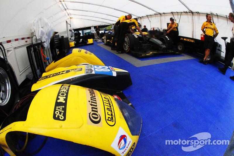 JDC / Miller Motorsports Team Area