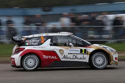 Kris Meeke e Paul Nagle, Citroën DS3 WRC, Citroën Total Abu Dhabi World Rally Team
