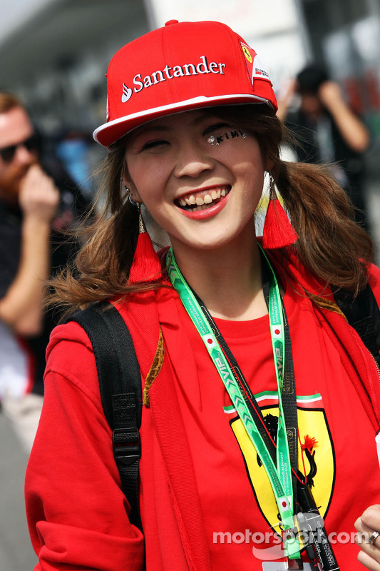 Fã de Kimi Raikkonen, Ferrari