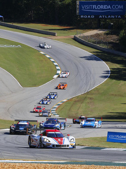 Largada: #5 Action Express Racing Corvette DP: Joao Barbosa, Christian Fittipaldi, Sébastien Bourdais lidera