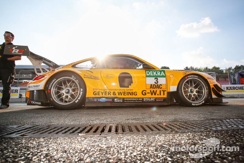 #3 GW IT Racing Team Schütz Motorsport Porsche 911 GT3 R: Christian Engelhardt, Jaap van Lagen