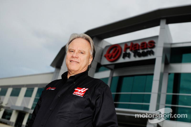 Gene Haas Haas F1 Takımı merkezinde, Kannapolis, N.C.