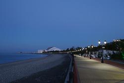 Sochi all'alba
