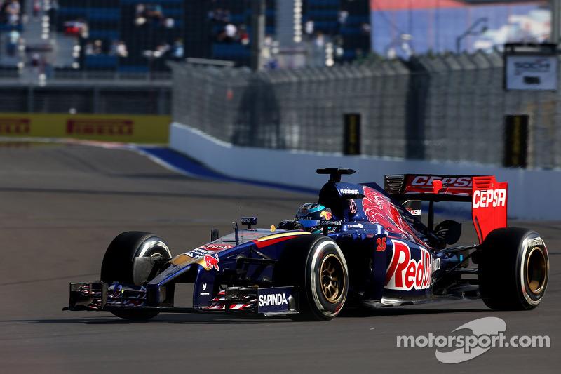 Jean-Eric Vergne, Scuderia Toro Rosso 10