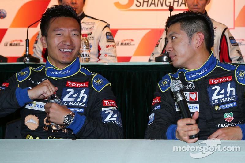 Ganador de la pole general David Cheng, Ho-Pin Tung