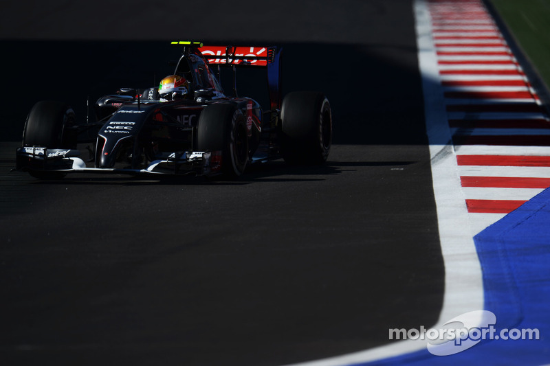 Esteban Gutierrez, Sauber C33