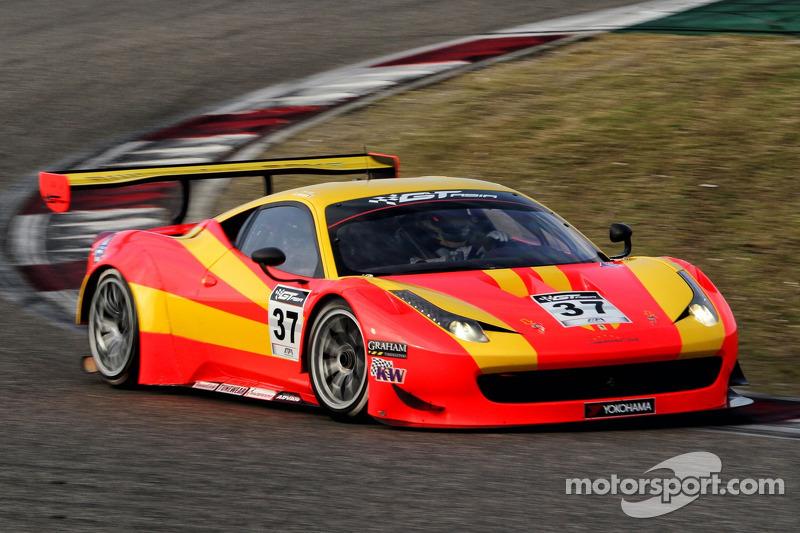 #37 BBT Ferrari 458 Italia GT3: Anthony Liu Xu, Davide Rizzo