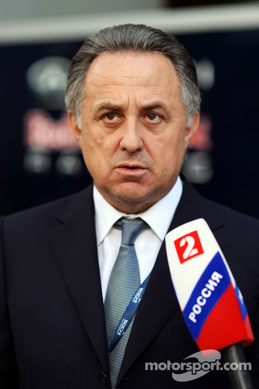 Vitaly Mutko, Ministro dos esportes da Federação Russa