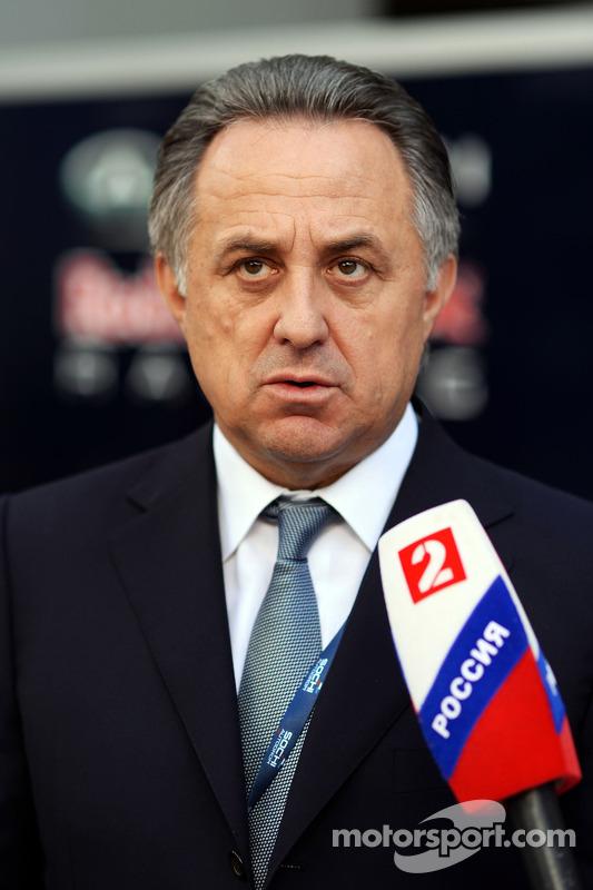 Vitaly Mutko, Sportminister