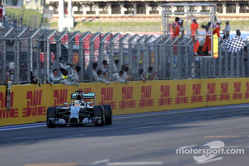 2014 Rusya GP: Lewis Hamilton, Mercedes AMG F1