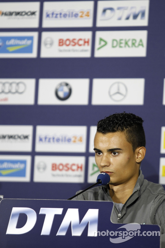 Conferencia de prensa, Pascal Wehrlein, Mercedes AMG DTM-Team HWA Mercedes DTM AMG C-Coupe