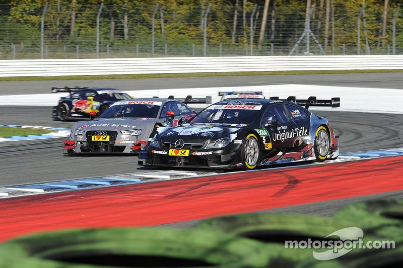 Christian Vietoris, Original-Teile Mercedes AMG, DTM Mercedes AMG C-Coupe,