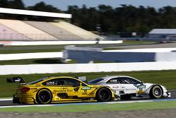 Timo Glock, BMW MTEK Takımı BMW M3 DTM ve Nico Muller, Audi Sport Takımı Rosberg Audi RS 5 DTM