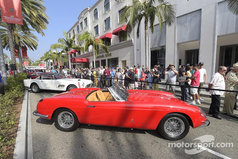 Ferrari Kuzey Amerika 60. yıl dönümü kutlamaları, Beverly Hills