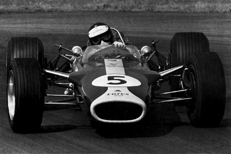 Grand Prix de Grande-Bretagne 1967 : Jim Clark, Lotus 49