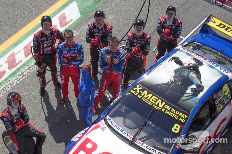 Jason Bright, BOC Racing con X-Men patrocinio