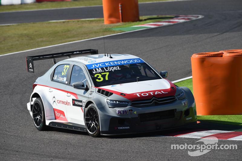José María López, Citroen C-Elysee WTCC, Citroën Total WTCC