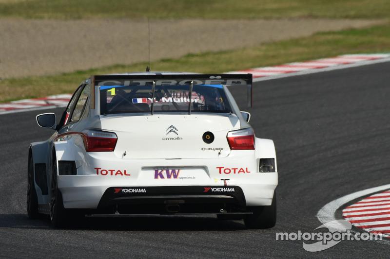 Yvan Muller, Citroen C-Elysee WTCC, Citroen Total WTCC