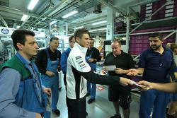 2014 DTM Şampiyonu Marco Wittmann BMW fabrikasını ziyaret ediyor