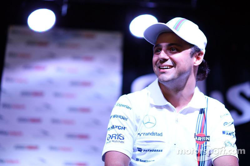 Felipe Massa, Williams at the Fans' Forum